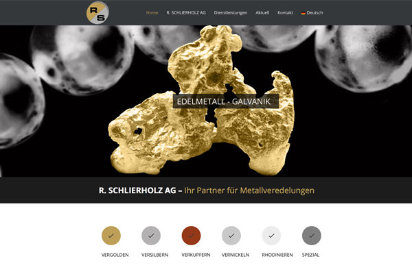 Schlierholz.ch - Neue Webseite erstellt durch MehrWeb GmbH - mehrweb.ch